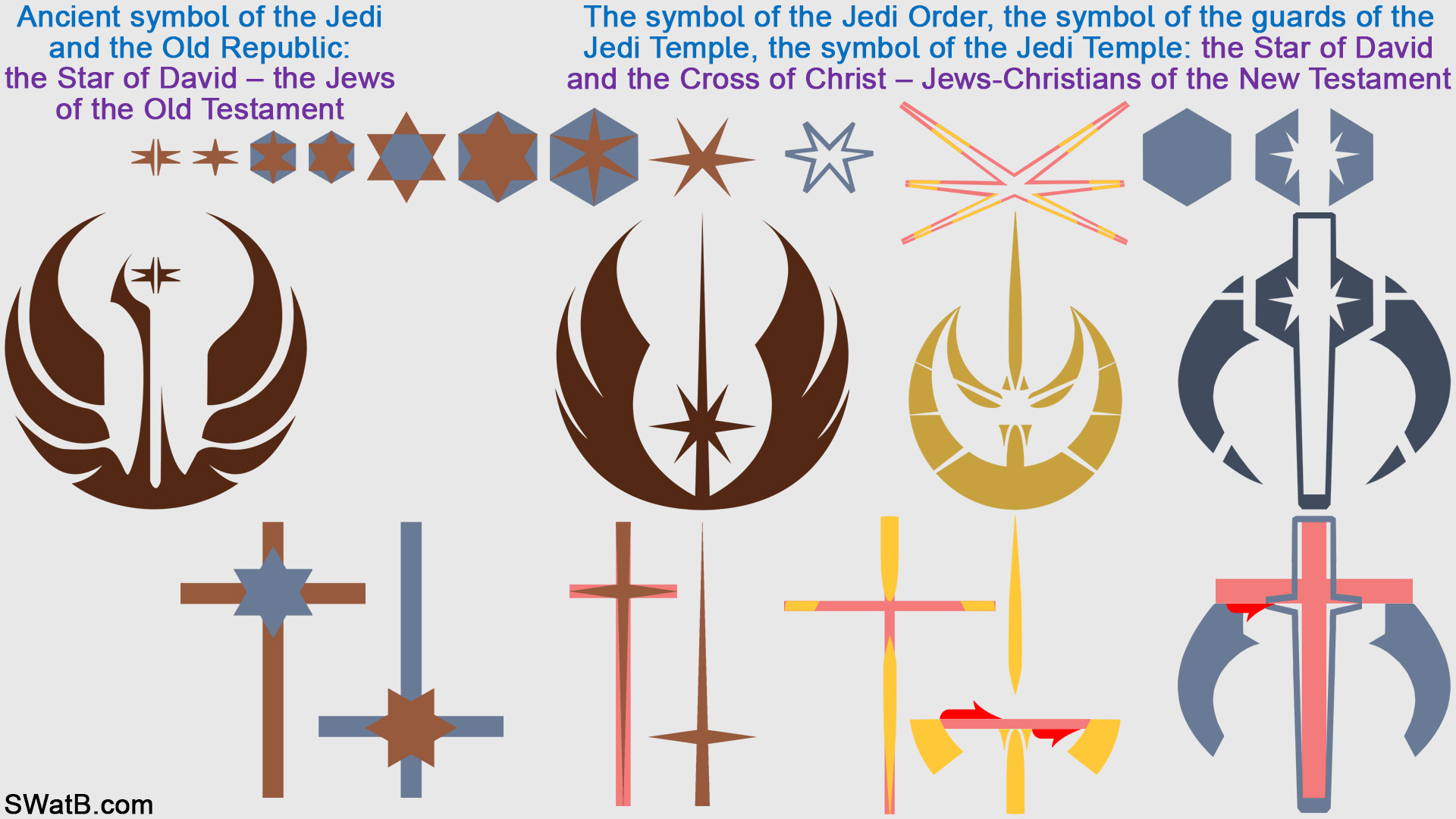 Saga jedi symbols symbols of jews and christians jedi jedi symbols symbols of jews and christians biocorpaavc